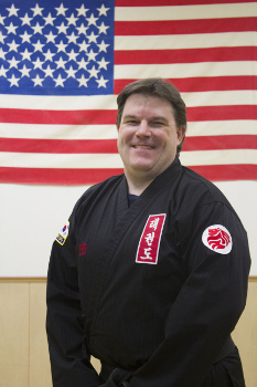 Master John Baure - 6 Dan